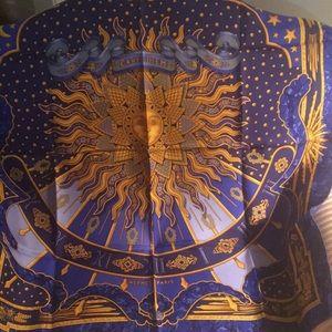 NWOT Hermes silk scarf
